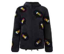 all-over hooded jacket