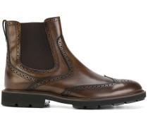 'Tronchetto' Stiefel mit Budapestermuster