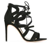 Stiletto-Sandalen mit Schnürung