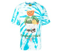 T-Shirt mit Smiley Sketch-Print