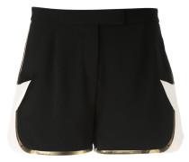 star detail shorts - women