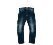 Jeans mit Farbklecks-Effekt - kids