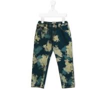 Jeans mit Farbeffekt - kids - Baumwolle - 4 J.