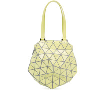 - Strukturierte Schultertasche mit geometrischem