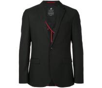 embellished lapel blazer