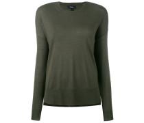 Pullover mit gerippten Bündchen - women