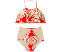 - printed bikini set - women - Polyamid/Elastan