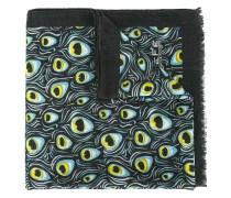 Schal mit Pfauen-Print