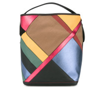 Schultertasche in Colour-Block-Design - women