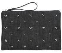 Clutch mit Nieten - women - Baumwolle
