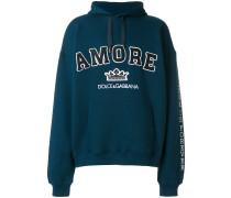 Amore varsity hoodie