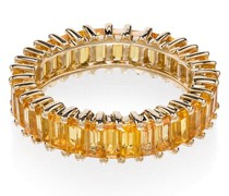 18kt Gelbgoldring mit Saphiren