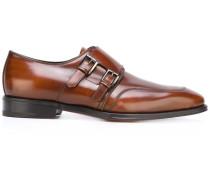Monk-Schuhe mit spitzer Kappe