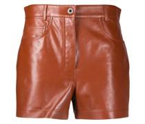 Shorts aus Leder