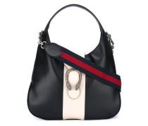 - Hobo-Handtasche mit verziertem Verschluss