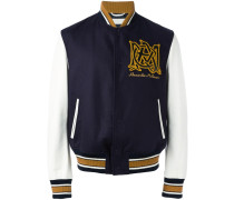 Collegejacke mit Logo-Stickerei