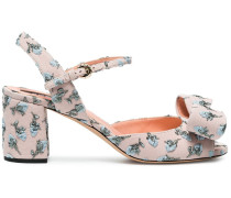 floral 70 embroidered sandals