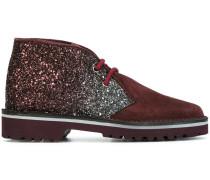 glitter panel desert boots