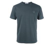 T-Shirt mit Logo-Patch - men - Baumwolle - M