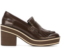 Loafer mit dicker Plateausohle