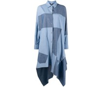 Hemdkleid im Patchwork-Look