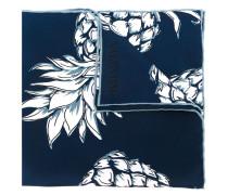 Garavani Seideneinstecktuch mit Ananas-Print