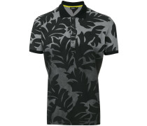Poloshirt mit Blatt-Print - men - Baumwolle - M