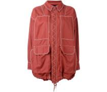 Oversized-Jacke mit Reißverschluss - women