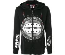 flight club print hoodie