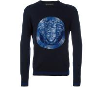 Sweatshirt mit Medusamotiv