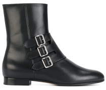 boots with buckle detail