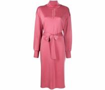 Kleid mit Schlüssellochausschnitt