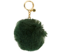 Schlüsselanhänger mit Kunstpelzbommel