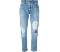 'Hawaiian Patch' Jeans
