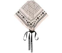 Verzierter Schal mit Print