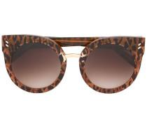 Runde Sonnenbrille - women - Acetat - 51