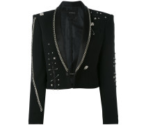 - Fortim chain embellished jacket - women