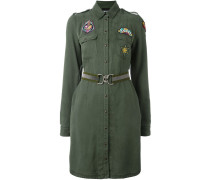 patched military dress