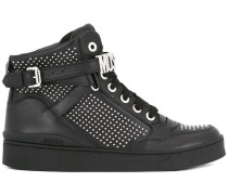 Verzierte High-Top-Sneakers
