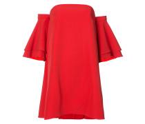 Schulterfreies Kleid mit weiten Ärmeln