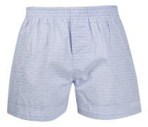 check-print boxers