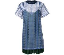T-Shirtkleid im Lagen-Look