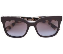 - oversized sunglasses - women - Acetat - 53