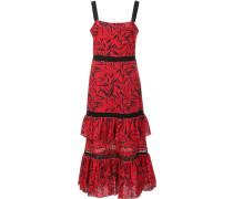 Mehrlagiges Kleid mit Ösen