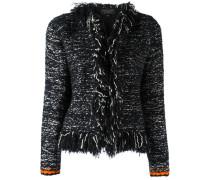 - Jacke mit ausgefransten Kanten - women