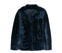 reversible fur jacket