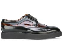 Derby-Schuhe mit Plateausohle