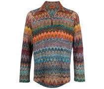 Pullover mit Chevron-Muster