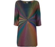 Kleid mit Spiralen-Print