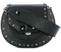 studded small tote bag